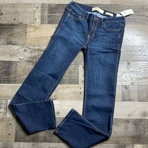 HOLLISTER DARK WASH LOW RISE SKINNY JEANS SZ 27/5